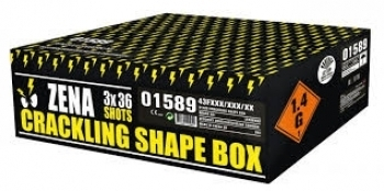 Crackling Shape Box